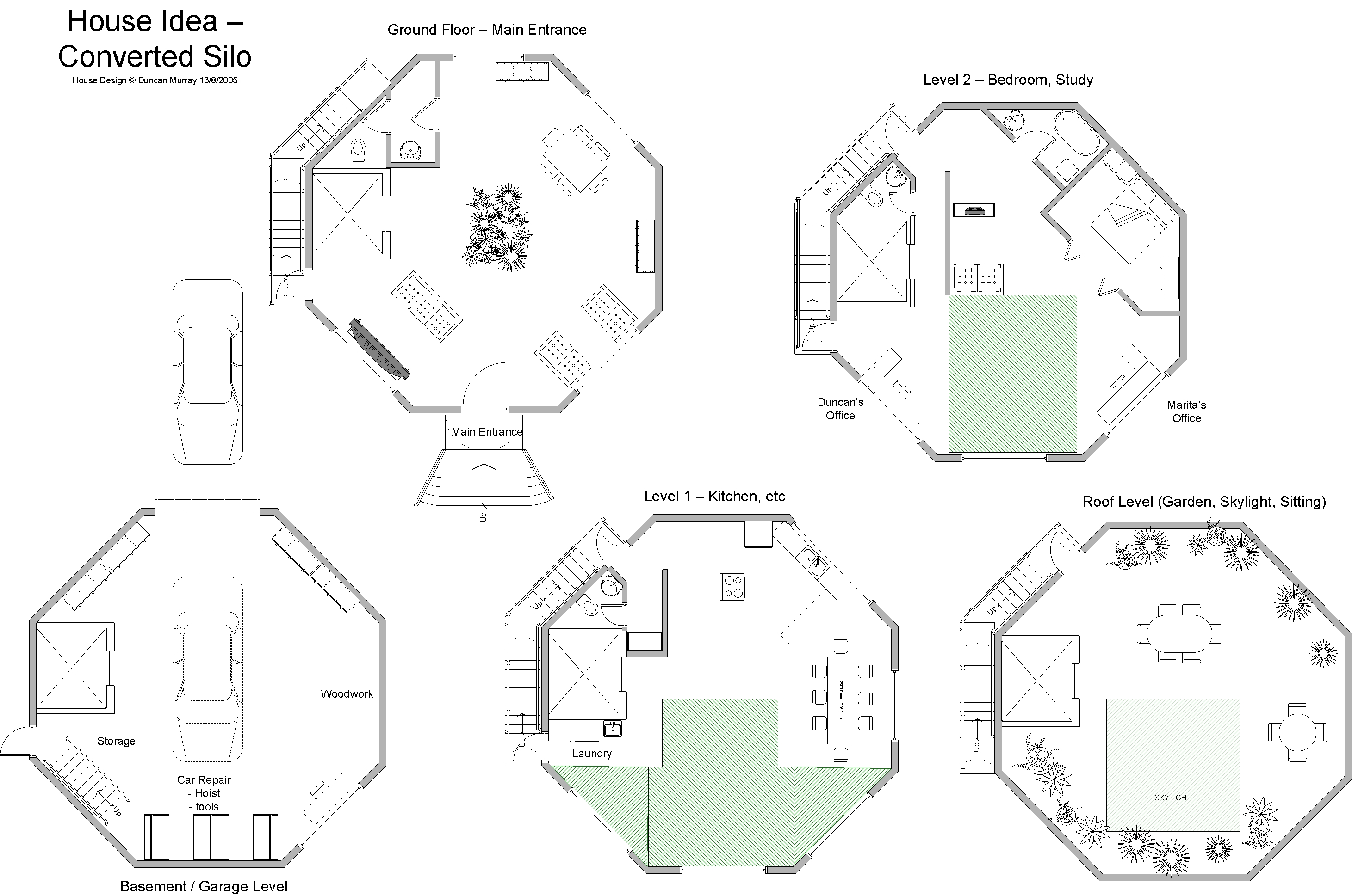 Round Cabin Floor Plans Round Free House Plans Images